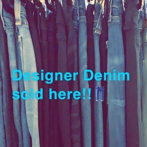 Designer Denim at great prices!!!